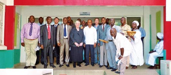 Eröffnung Bissau