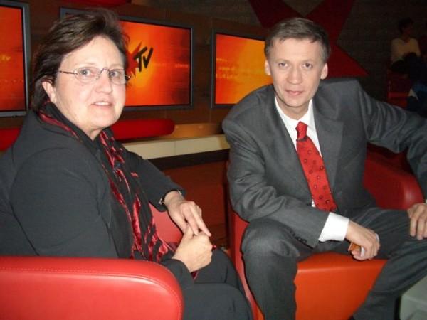 Seit der Vereinsgründung war Ute Winkler-Stumpf auch mehrmals Gast bei SternTV und Günther Jauch